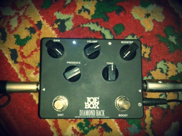 Review Joe Box Diamond Back Distortion Pedal Oleh Jikun /rif