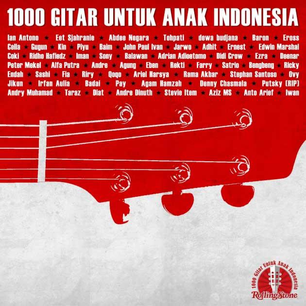 Album 1000 Gitar Untuk Anak Indonesia, Oleh Vidi Rosen