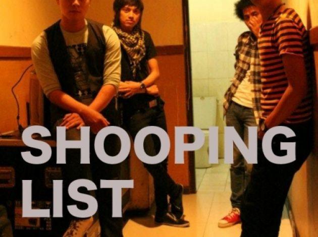 Shopping List Merilis Mini Album Bertema Kegelisahan Sosial