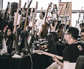 Parade Foto Hiend Guitar Experience 2017, Lebarannya para Pecinta Gitar
